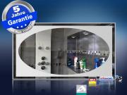 Design Spiegel mit Infrarotheizung 600 Watt M10 Oval
