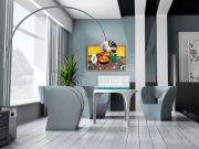 infrarot Bildheizung Kunst 500 Watt 90x60 HB30 Hyazinthenteppich