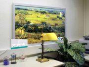 Infrarot Bildheizung Kunst 600 Watt 110x60 M23 Ebene La Grau
